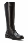 David Tate Women's Bree Super Plus Wide Calf� Leather Riding Boot (Black)