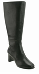 David Tate Women's Emma Extra/Super Wide Calf™ Boot (Black)