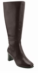 David Tate Women's Emma Extra/Super Wide Calf™ Boot (Brown)
