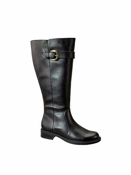 David Tate Women's Harper Extra/Super Wide Calf™  Boot (Black)
