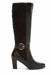 David Tate Women's Lainie Super Wide Calf™ Boot (Black)