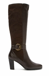 David Tate Women's Lainie Super Wide Calf™ Boot (Brown)