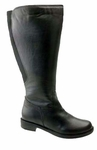 David Tate Women's Land Extra/Super Women's Leather Wide Calf� Boot (Black)