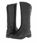David Tate Women's Marli Extra/Super Wide Calf Boot (Black)