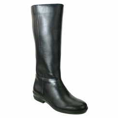 David Tate Women's Paige Extra/Super Wide Calf™ Women's Leather Boot (Black)