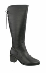 David Tate Women's Snug Boot - Extra Wide/Super Wide Calf™ (Black)