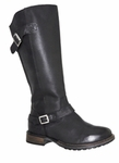 Emily Super Plus Wide Calf� Boot (Black)