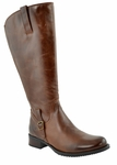 Jordana Super/Super Plus Wide Calf&reg  Boot  (Cognac)