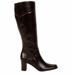 Kiersten Plus - Wide Calf Boot (Brown) by Naturalizer