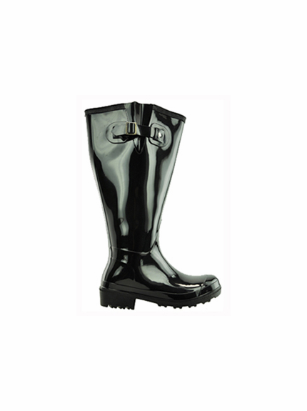 Luxury Lace Up Rain Boots For Wide Calves