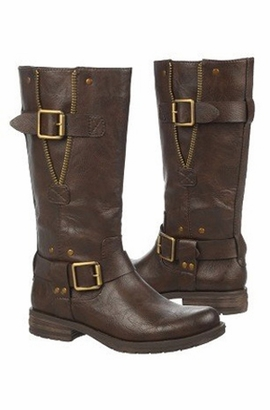 Womens Wide Calf Leather Boots Sale 120