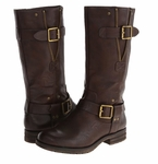 Naturalizer Women's Ballona Mid-Calf Wide Calf Boot (Brown)
