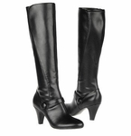 Naturalizer Women's Bayfield Wide Calf Dress Boot (Black)