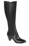 Naturalizer Women's Etton Wide Calf Boot (Black)