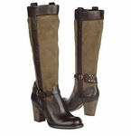 Naturalizer Women's Glassy Wide Calf Riding Boot (Taupe)