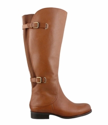 Naturalizer Women's Jamison Wide Calf Riding Boot (Banana Bread) - FINAL SALE