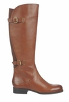Naturalizer Women's Jamison Wide Calf Boot (Banana Bread)