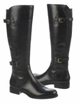 Naturalizer Women's Jamison Wide Calf Boot (Black)