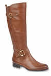 Naturalizer Women's Jersey Wide Calf Boot (Banana Bread)