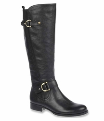 Naturalizer Women's Jersey Wide Calf Boot (Black)