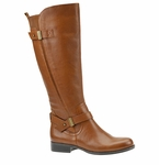 Naturalizer Women's Joan Wide Calf Boot (Banana Bread)