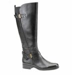 Naturalizer Women's Joan Wide Calf Boot (Black)