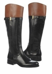 Naturalizer Women's Josette Wide Calf Boot (Black)