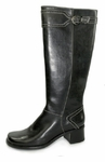 Naturalizer Women's Scurry Plus Wide Calf Riding Boot (Black)