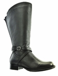 Riley Women's Super/Super Plus Wide Calf�  Leather Boot ON SALE!  (Black)