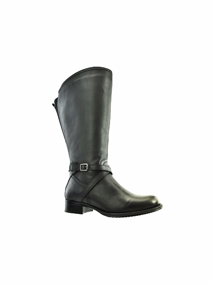 Riley Women's Super/Super Plus Wide Calf®  Leather Boot ON SALE!  (Black) - FINAL SALE