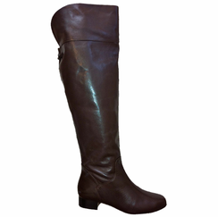 Ros Hommerson Beth Extra Wide Calf Thigh High Over-the-Knee Boot (Brown) - FINAL SALE