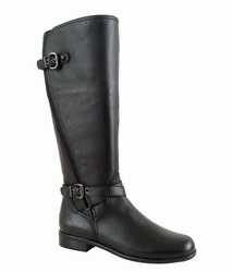 Ros Hommerson Women's Brooke Extra Wide Calf Boot (Black) - Final Sale