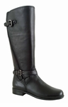 Ros Hommerson Women's Brooke Super Plus Wide Calf&reg Boot (Black)