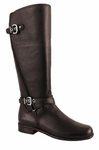 Ros Hommerson Women's Brooke Super Plus Wide Calf&reg Boot (Brown)