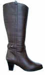 Ros Hommerson Women's Carly <u>Super Wide Calf</u>™ Boot (British Tan)