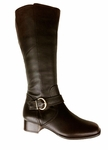 Ros Hommerson Women's Faith Super Wide Calf™ Boot (Brown)
