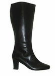 Ros Hommerson Women's Ilana Extra Wide Calf Boot (Black)