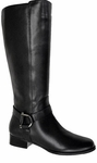 Ros Hommerson Women's Jenny Super Wide Calf™ Boot (Black)
