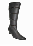 Ros Hommerson Women's Jerry Extra Wide Calf Boot (Black)
