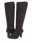 Ros Hommerson Women's Kate Super Wide Calf™ Boot (Black Nub)