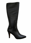 Ros Hommerson Women's Maine Extra Wide Calf Boot (Black Leather)