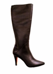 Ros Hommerson Women's Maine Extra Wide Calf Boot (Brown Leather)