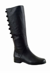 Ros Hommerson Women's Rosie Extra Wide Calf Boot (Black)
