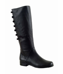 Ros Hommerson Women's Rosie Super Wide Calf™ Boot (Black) - Final Sale