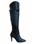 Ros Hommerson Women's Sherlock Extra Wide Calf Over-the-Knee Boot (Black)