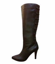 Ros Hommerson Women's Tanya Extra Wide Calf Boot (Brown) - Final Sale