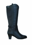 Ros Hommerson Women's Zoe Extra Wide Calf Boot (Black)