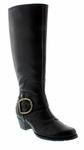 Walking Cradles® Aryn Extra Wide Calf Boot (Black)