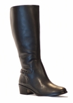 Rose Petals Sophia Super Plus Wide Calf� Boot (Black)
