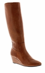Rose Petals Summer2 Extra Wide Calf Wedge Boot (Luggage)